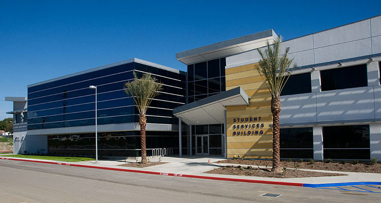 Los Angeles Southwest College Student Services Education Center Stadium Campus Security